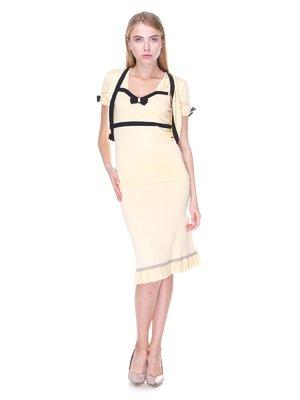 Комплект: топ, юбка и болеро | 2619212
