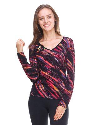 Пуловер абстрактного забарвлення | 2619156