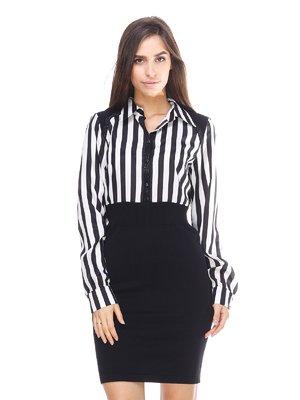 Сукня чорно-біла | 2619174