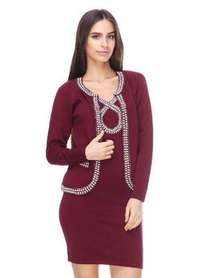 Костюм: жакет і сукня | 2619468