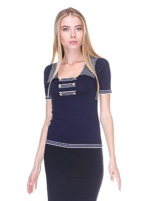 Блуза синяя   2619359