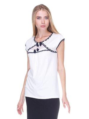 Блуза біла | 2619374