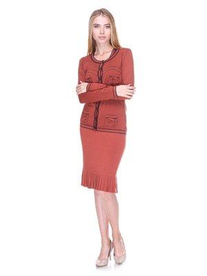 Комплект: кардиган и платье   2619207