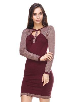 Сукня бордова | 2635310
