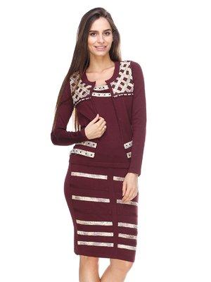 Комплект: топ, юбка и кофта | 2619208