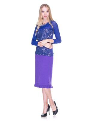 Юбка фиолетовая | 2619412