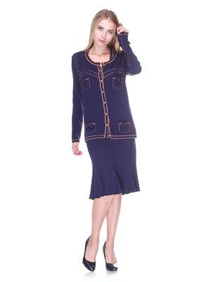 Комплект: кардиган и платье   2619205