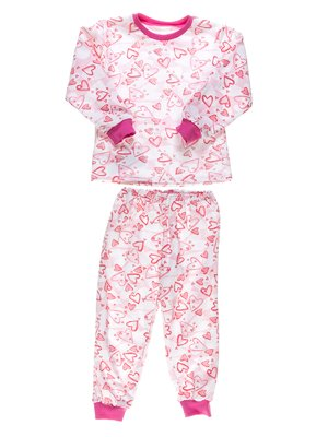 Пижама с начесом: джемпер и брюки | 2635816