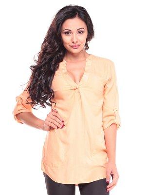 Блуза персикового цвета | 2646853