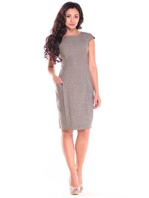 Платье цвета хаки | 2646875