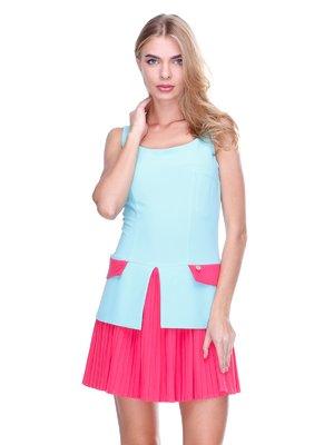 Сукня рожево-блакитна | 2638670