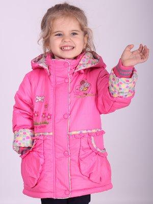 Куртка рожева | 2027147