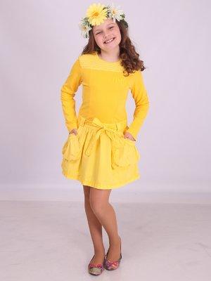 Платье желтое | 2180613