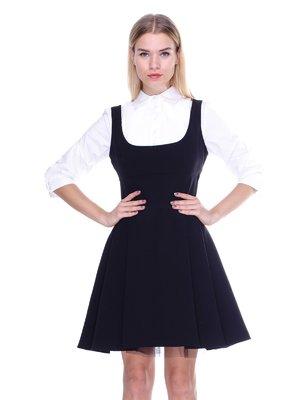 Платье-сарафан черное | 2638712