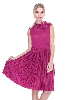 Платье бордовое   2632110