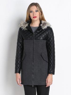 Пальто чорне | 2660727