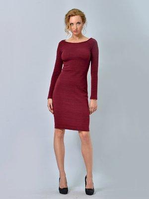 Сукня бордова | 2660198