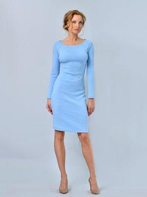 Платье голубое | 2660201