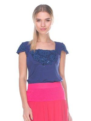 Блуза синя | 2434181