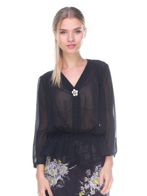Блуза чорна | 2591001