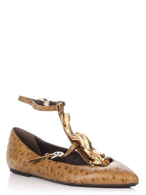 Туфлі оливкового кольору - Giorgio Fabiani - 2655378
