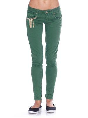 Джинсы зеленые | 2638920