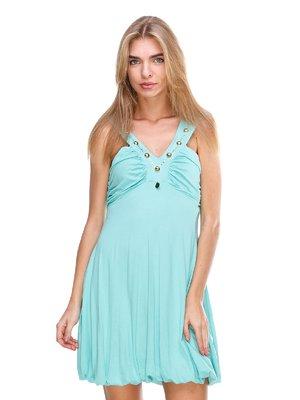 Платье бирюзовое | 2638534
