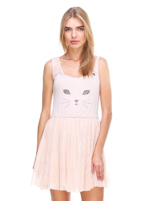 Платье светло-розовое | 2638547