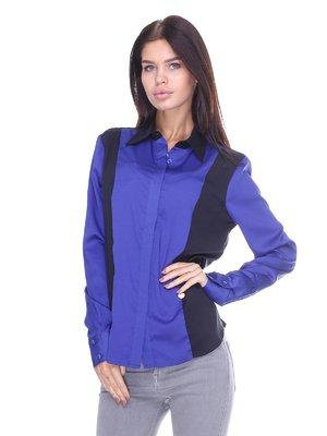 Блуза сине-черная   2638701
