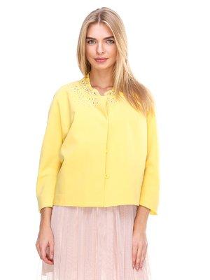 Жакет желтый | 2638687