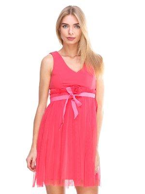 Платье коралловое | 2638683