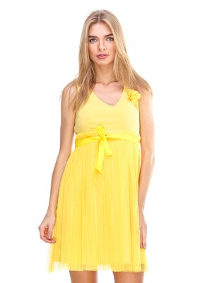 Платье желтое | 2638682