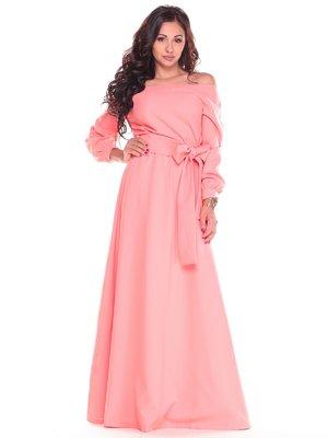 Сукня темно-персикового кольору | 2404287