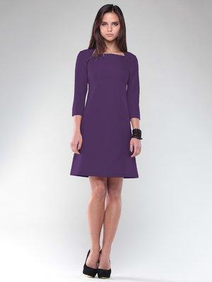Платье темно-фиолетовое | 2649781