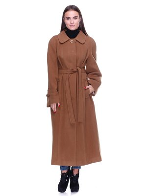 Пальто рыжего цвета - DANNA - 2652695