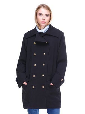 Пальто чорне | 2666401