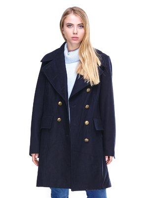Пальто темно-синее | 2666403