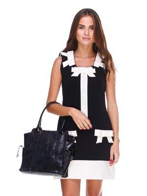 Платье черно-белое | 2660225