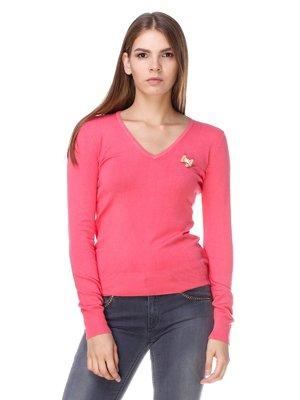 Пуловер рожевий | 2659885