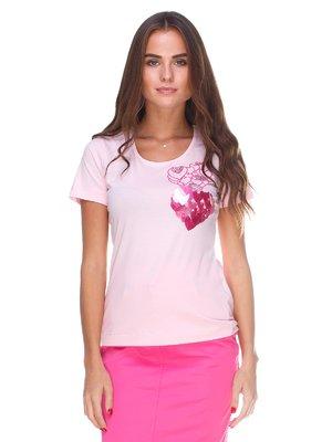 Блуза розовая   2590933