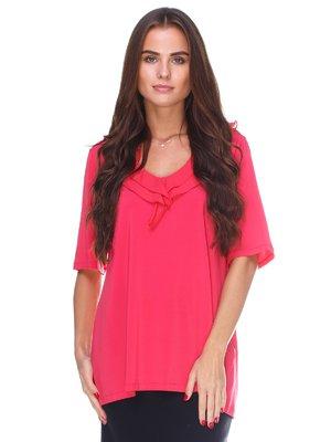 Блуза коралового кольору | 2590987