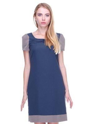 Платье темно-синее | 2659992