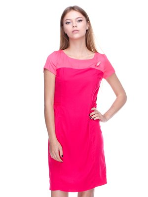 Платье кораллового цвета   2659993
