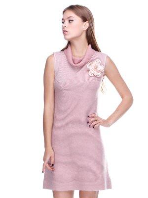 Сукня рожева у смужку | 2659898