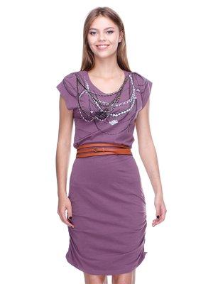 Платье темно-сиреневое   2660008