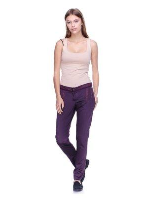 Брюки фиолетовые | 2659990
