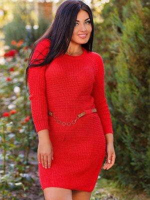 Платье красное | 2679419