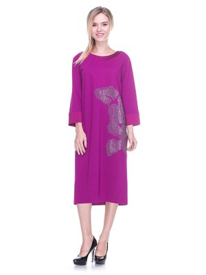 Платье фиолетовое   2640546