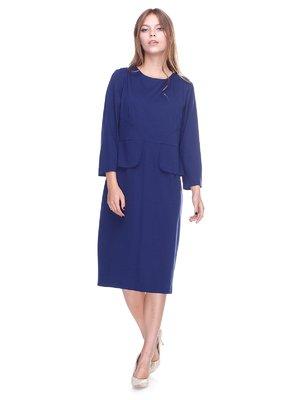 Платье синее   2640589