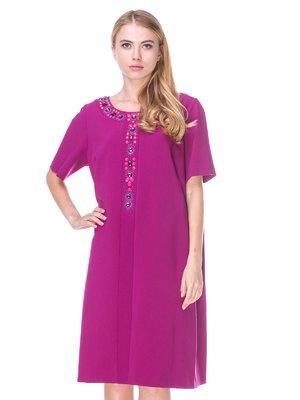 Платье цвета фуксия   2640594